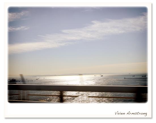 快晴の七里ヶ浜海岸
