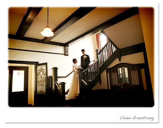 山手西洋館の外交官の家で前撮りフォトウェディング