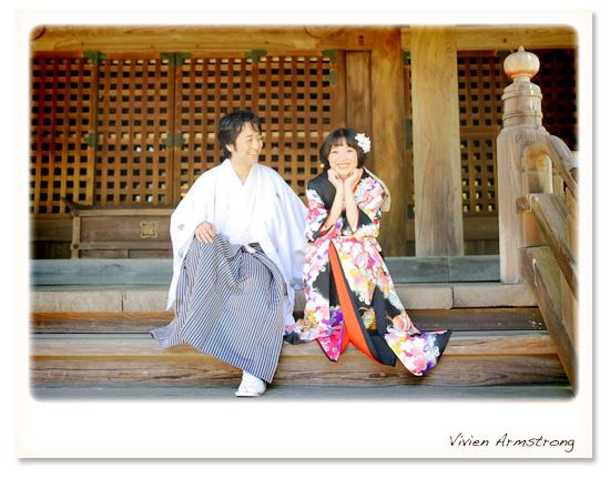 鎌倉でフォトウェディング