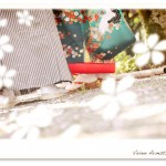 VivienArmstrongの桜ロケーション撮影