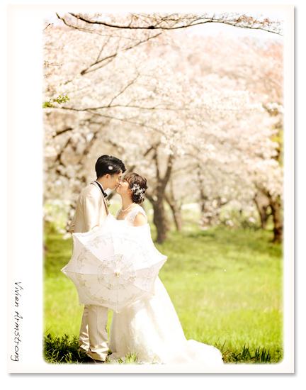 二人だけの桜ロケーションプラン