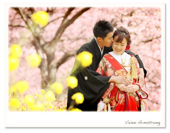 前撮りするなら桜×菜の花と撮れる河津桜ロケーション