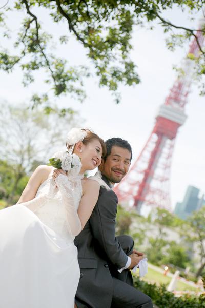 赤坂ブライダルフォトグラファーズの、ちょっといい話-芝公園2