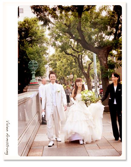 赤坂ブライダルフォトグラファーズの、ちょっといい話-Toki_nar11