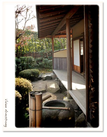 赤坂ブライダルフォトグラファーズの、ちょっといい話-お茶室 前撮り ロケハン01