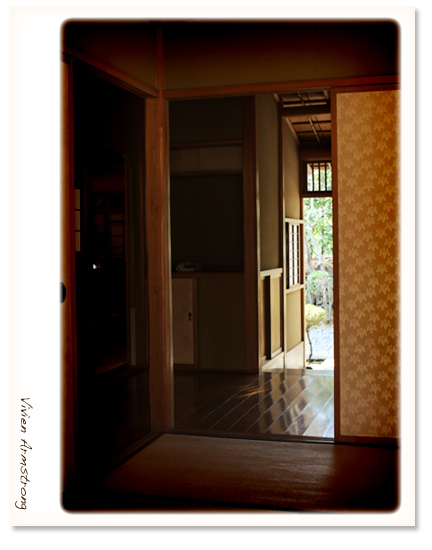 赤坂ブライダルフォトグラファーズの、ちょっといい話-お茶室 前撮り ロケハン06