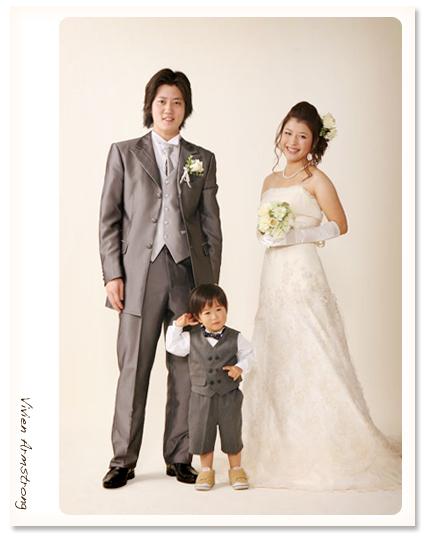 赤坂ブライダルフォトグラファーズの、ちょっといい話-3shot_photoW02