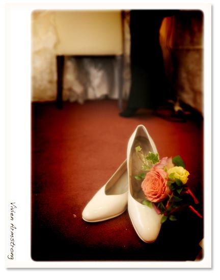 靴とブートニア