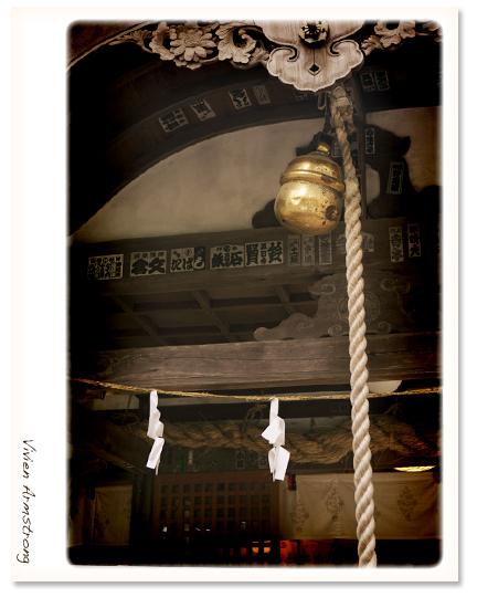 諏訪神社の鈴