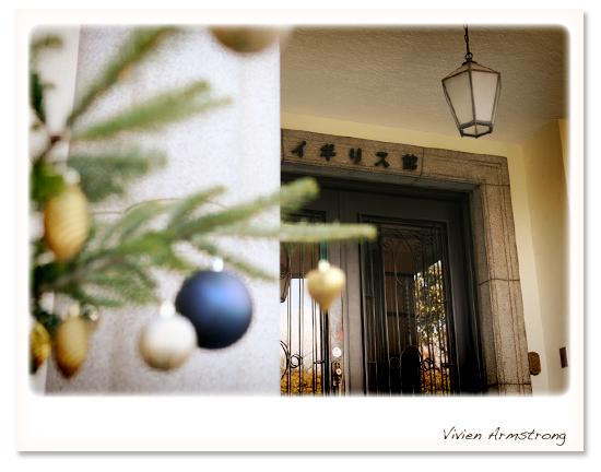 イギリス館の玄関