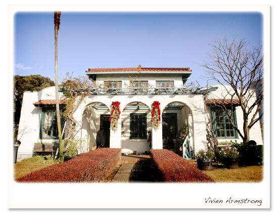 J.H.モーガン設計、スパニッシュスタイルの西洋館