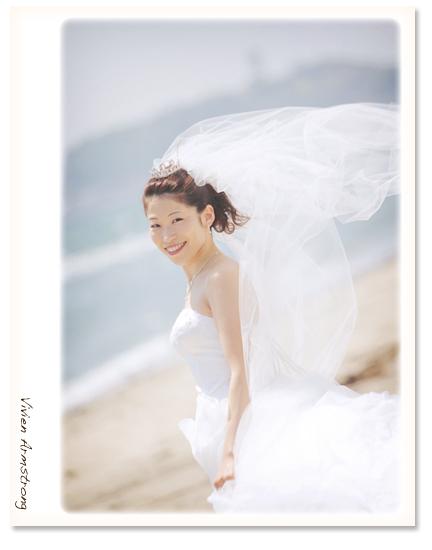 海風が吹く江ノ島