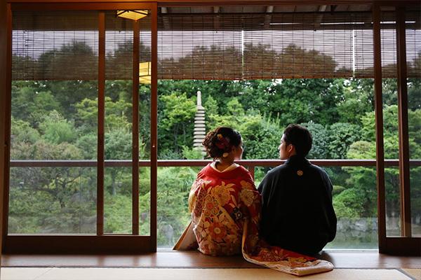 茶室 庭園 悠閒時光