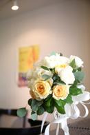 結婚式会場は東京の小石川にある「青いナポリ」