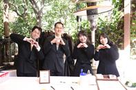 挙式当日受付をする参加者のドキュメンタリーカット