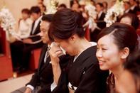 インターコンチネンタル東京ベイ 挙式中の母の涙…