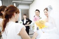 インターコンチネンタル東京ベイで結婚式ブーケトス
