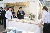 ノエルのウェディングケーキの登場!