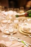 乾杯シャンパンは縁起物
