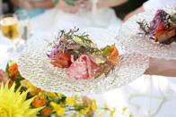 ご結婚式会場の青いナポリでは本場のイタリアンが楽しめます