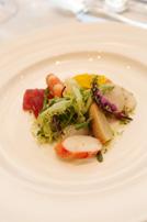 魚介類のサラダマリネのお写真