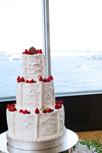 空と海を眺める解放感wedding