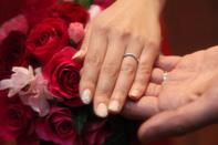 指輪とブーケのイメージカット
