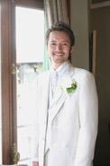 マダムトキ結婚式の新郎さま