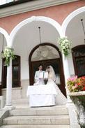 マダムトキ人前式での結婚誓約書披露