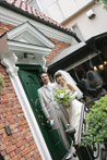 代官山のレストランマダムトキで撮影した結婚写真