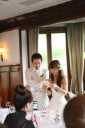 披露宴ラストには花嫁の手紙です