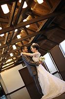 旧細川侯爵邸でドレスとタキシードでフォトウェディング撮影