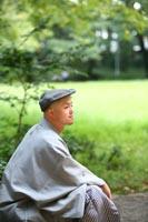 前田侯爵邸の新緑の庭で和洋装フォトウェディング