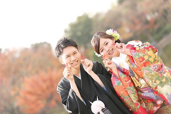 紅葉日本庭園