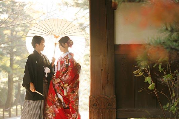 日本庭園 前撮り