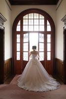 旧古河邸洋館でドレスでフォトウェディング