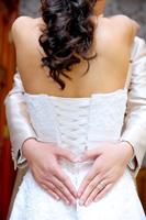 ドレスで雰囲気のある写真