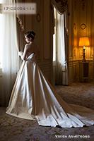 Canta Bellaシリーズ 張りのあるミカドウェディングドレス