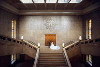 重要文化財に指定されている東京国立博物館でのフォトウェディングは特別な空間