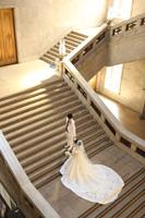 光が降り注ぐ東京国立博物館の大階段