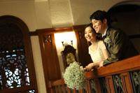 旧前田侯爵邸洋館でドレスの前撮りロケーション