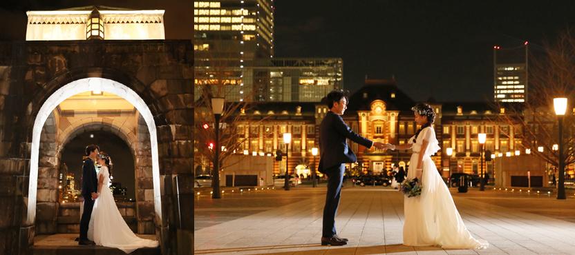 東京駅フォトウェディング
