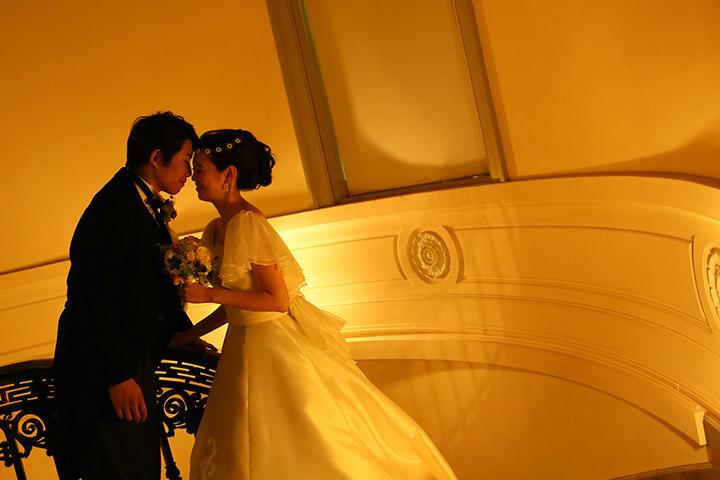 東京国立博物館で映画のようなフォトウェディング